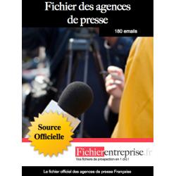 Fichier des agences de presse