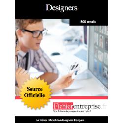 Fichier des designers