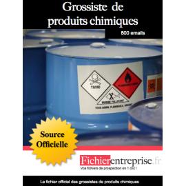 Fichier des grossistes de produits chimiques