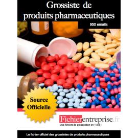 Fichier des grossistes de produits pharmaceutiques
