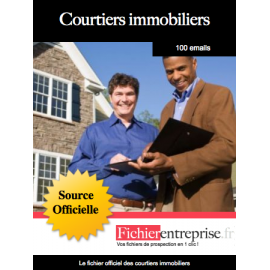 Fichier des courtiers immobiliers