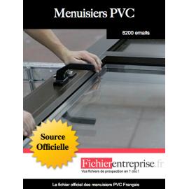 Fichier des menuisiers PVC