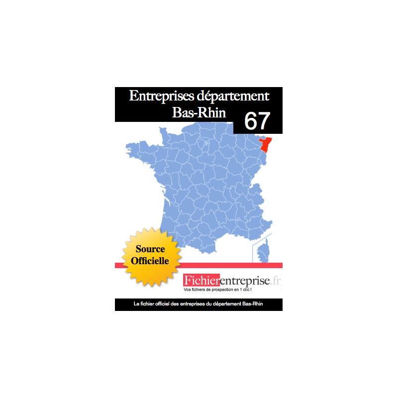 Entreprise Isolation Bas Rhin: Fichier Email Entreprise 67 Bas-Rhin