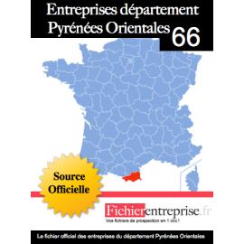 Fichier email 66 Pyrénées Orientales