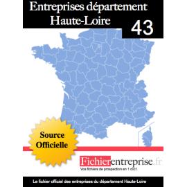 Fichier email 43 Haute Loire
