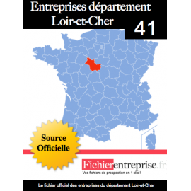Fichier email 41 Loire et cher