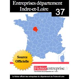 Fichier email 37 Indre et Loire