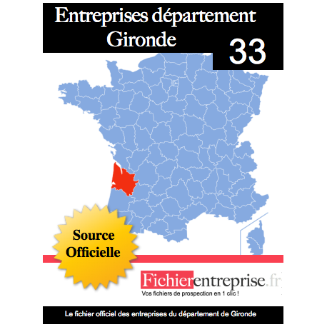 Fichier email 33 Gironde