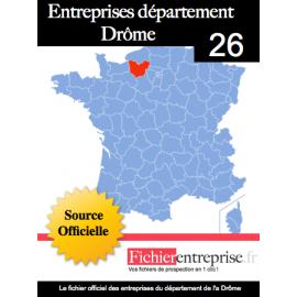 Fichier email 26 Drôme