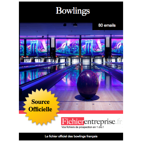 Fichier des bowlings