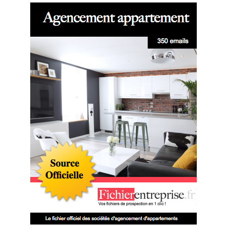 Fichier agencement d'appartement