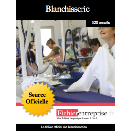 Fichier des blanchisseries