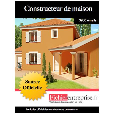 Fichier des constructeurs de maisons