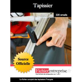 Fichier des tapissiers