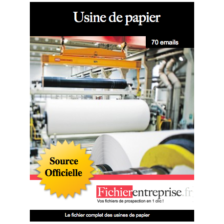Fichier des usines de papier