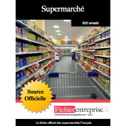 Fichier des supermarchés