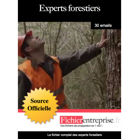 Fichier des experts forestiers