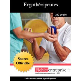 Fichier des ergothérapeutes