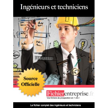 Fichier des ingénieurs et techniciens