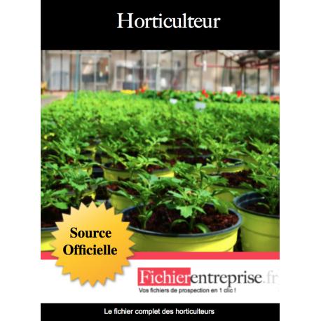 Fichier des horticulteurs