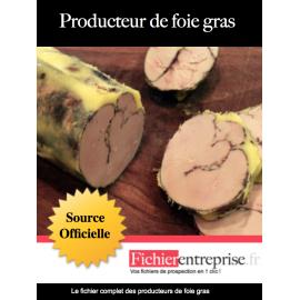 Fichier des producteurs de foie gras