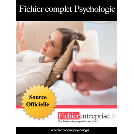 Fichier email complet psychologie