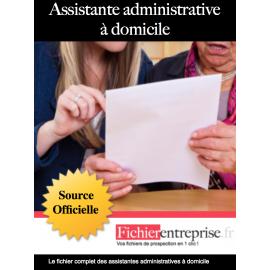 Fichier assistantes administratives à domicile