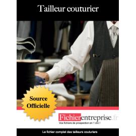 Fichier des tailleurs couturiers