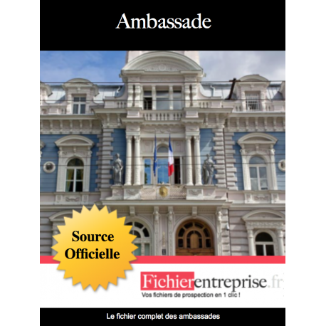 Fichier des ambassades