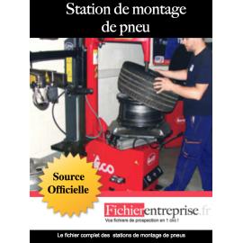 Fichier des stations de montage de pneus