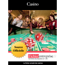 Fichier des casinos