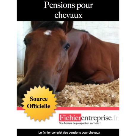 Fichier des pensions pour chevaux