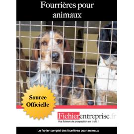 Fichier des fourrières pour animaux