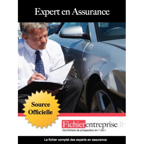 Fichier email des experts en assurance