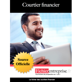 Fichier email des courtiers financier