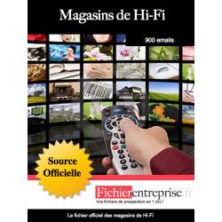Fichier des magasins Hi-Fi
