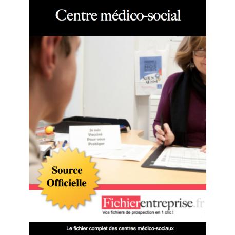 Fichier email des centres médico-sociaux