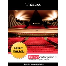 Fichier email des théâtres