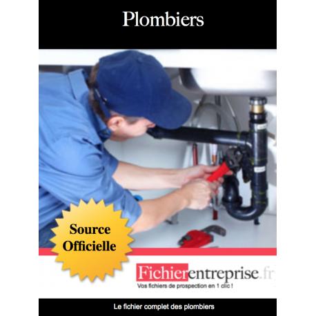 Fichier email des plombiers