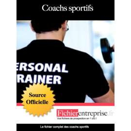 Liste email des coachs sportifs