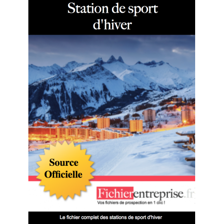 Base email stations de sports d'hiver