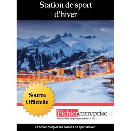 Base email stations de sports d'hiver
