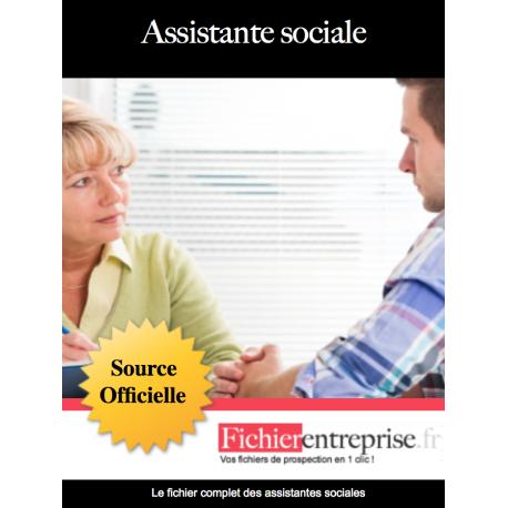 Fichier email des assistantes sociales