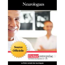 Fichier email des neurologues