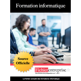 Fichier des formations informatique
