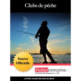 Fichier email des clubs de pêche