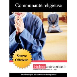 Fichier email des communautés religieuses
