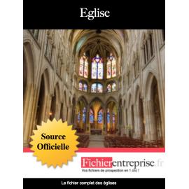 Fichier email des églises