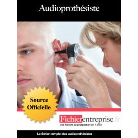 Fichier email des audioprothésistes