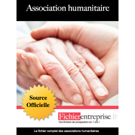 Fichier des associations humanitaires